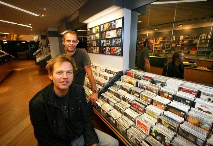 Paul Kroese (voorgrond) en Henk Visser.