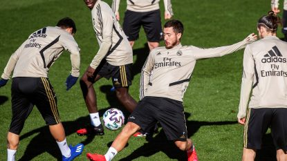 Hazard moet nog wachten op comeback: Zidane neemt Rode Duivel nog niet op in selectie voor bekertreffen tegen Real Sociedad