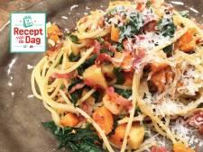 Recept van de dag: Pasta met zoete aardappels