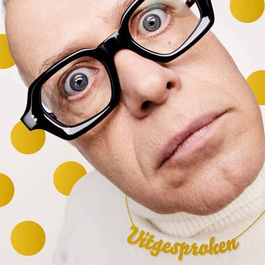 Marc-Marie Huijbregts speelt de voorstelling 'Uitgesproken' in Rilland.