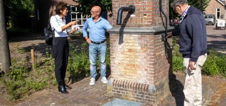 Hoofdrol voor water op Doornboomplein in Middelbeers