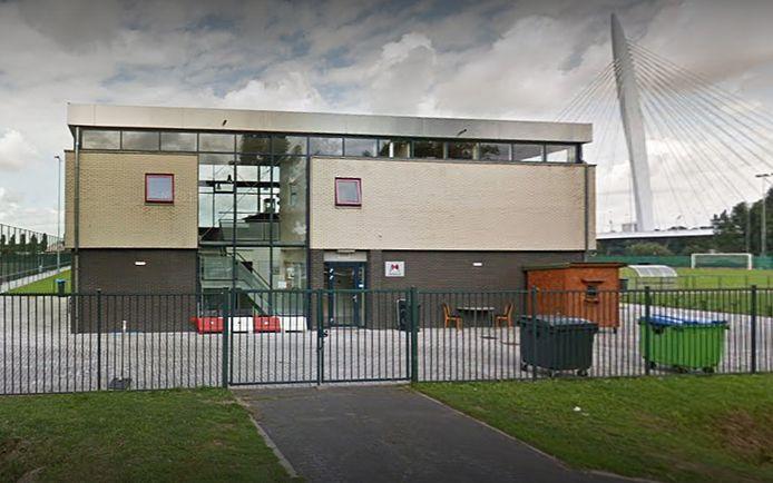 Het clubgebouw van SVA Papendorp aan de Tirionlaan op bedrijventerrein Papendorp.