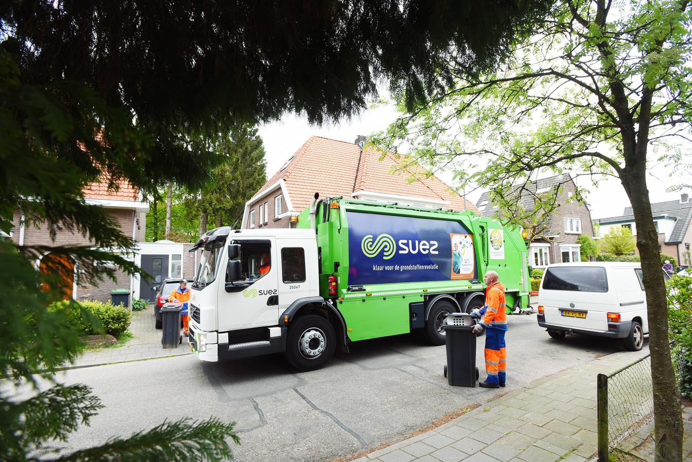 Suez haalt huishoudelijk afval op in een aantal gemeenten in Zuidoost-Brabant.