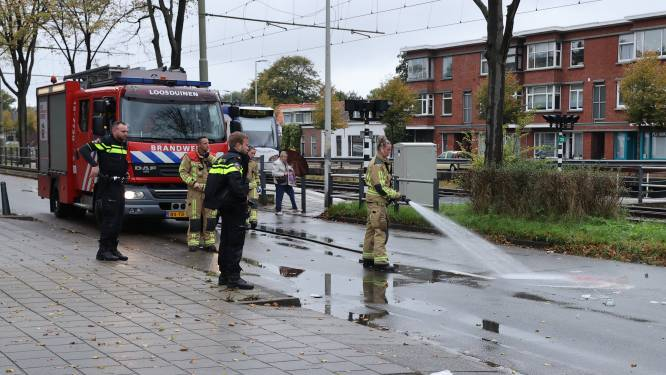 Fietser zwaargewond na aanrijding op Loosduinsekade