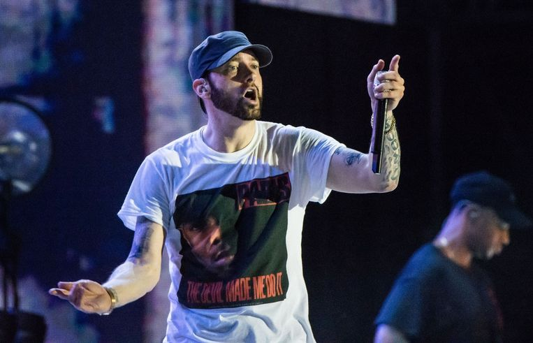 Eminem Beeld Photo News