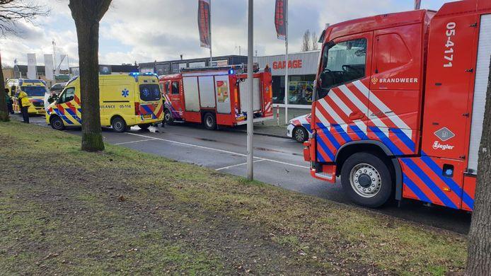 Het ongeluk gebeurde aan de Buurserstraat in Enschede