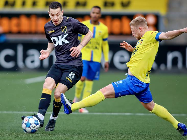 NAC-middenvelder Haye: 'Eerste zestig minuten tegen Cambuur geven vertrouwen voor de play-offs'