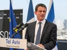 """Valls essaie de convaincre Israël en """"ami"""", mais """"la colonisation doit cesser"""""""
