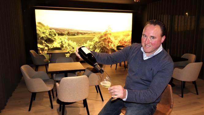 """Olivier (46) opent wijntempel in Machelen, met zicht op de Champagnestreek: """"300 soorten tussen 6,95 en 895 euro"""""""