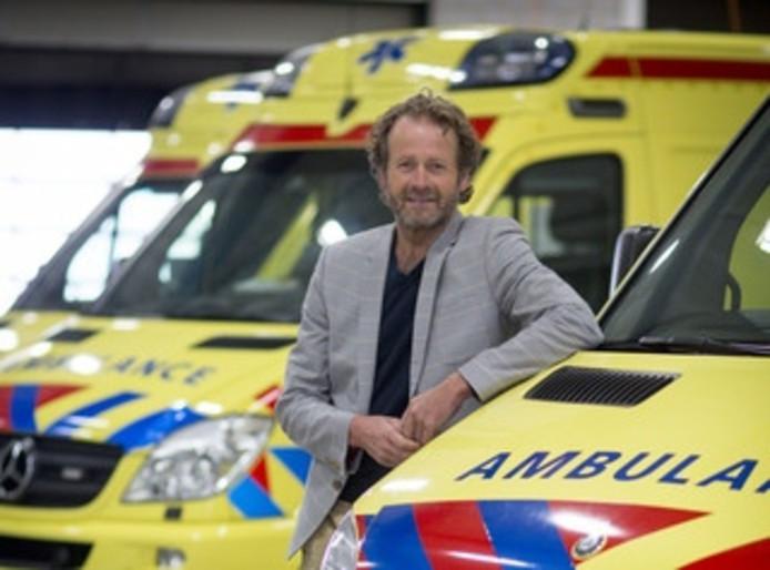 Jan Goselink hoofd van de Regionale Ambulancevoorziening Gelderland-Midden.