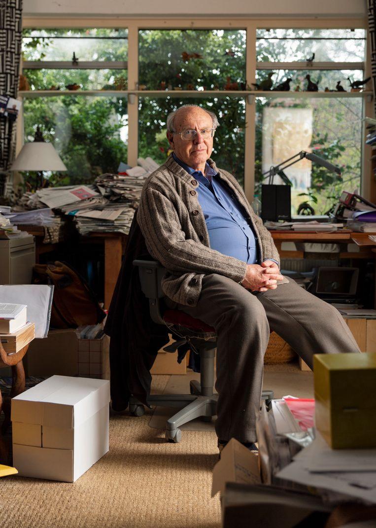 Albert Heringa: 'Ik heb zelf nooit het gevoel gehad dat ik iets immoreels deed'. Beeld Hanne van der Woude