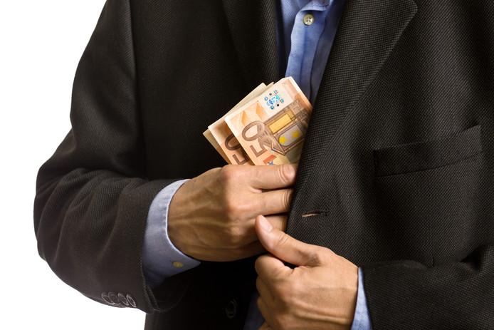 fraude money geld verduisteren stock