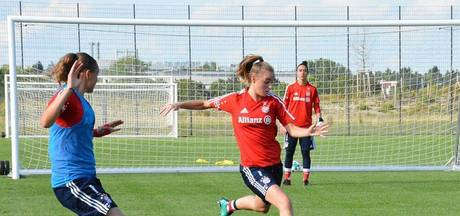 Jill Roord scoort bij debuut voor Bayern