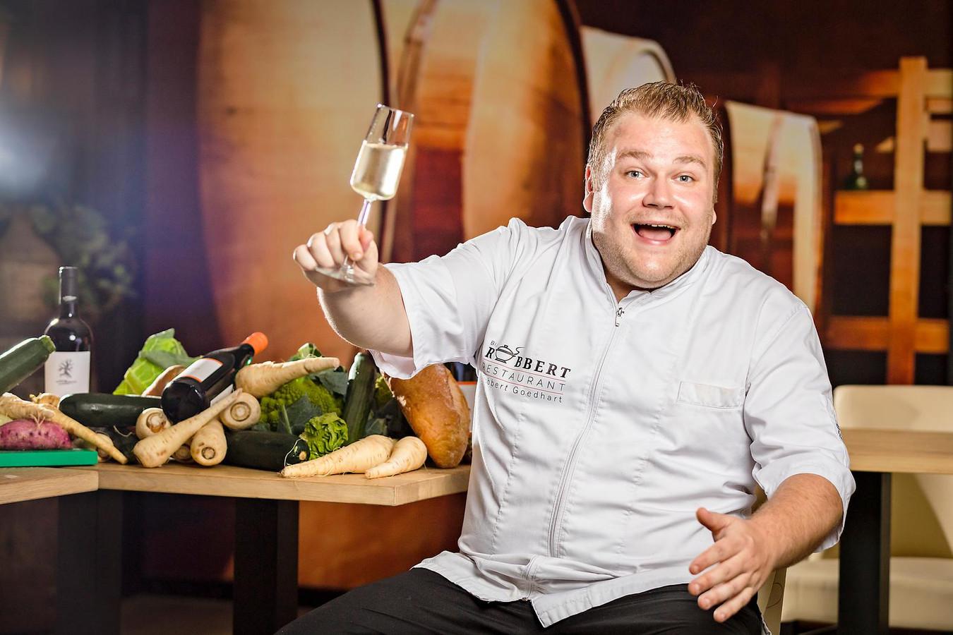 Robbert Goedhart van Restaurant Bij Robbert in Bodegraven wint de Gouden Pollepel