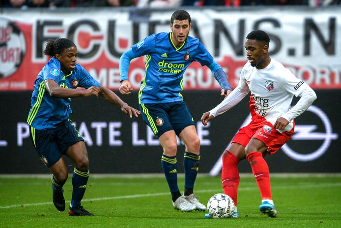 De bekerfinalisten Feyenoord en FC Utrecht.