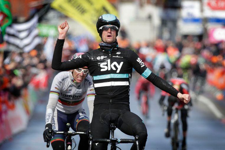 Wout Poels zorgde met Luik-Bastenaken-Luik voor de eerste overwinning van Sky in een monument.