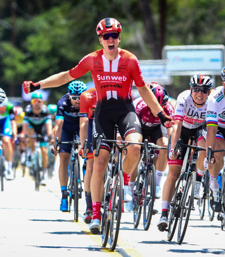 Cees Bol klopt Peter Sagan in slotetappe in Ronde van Californië