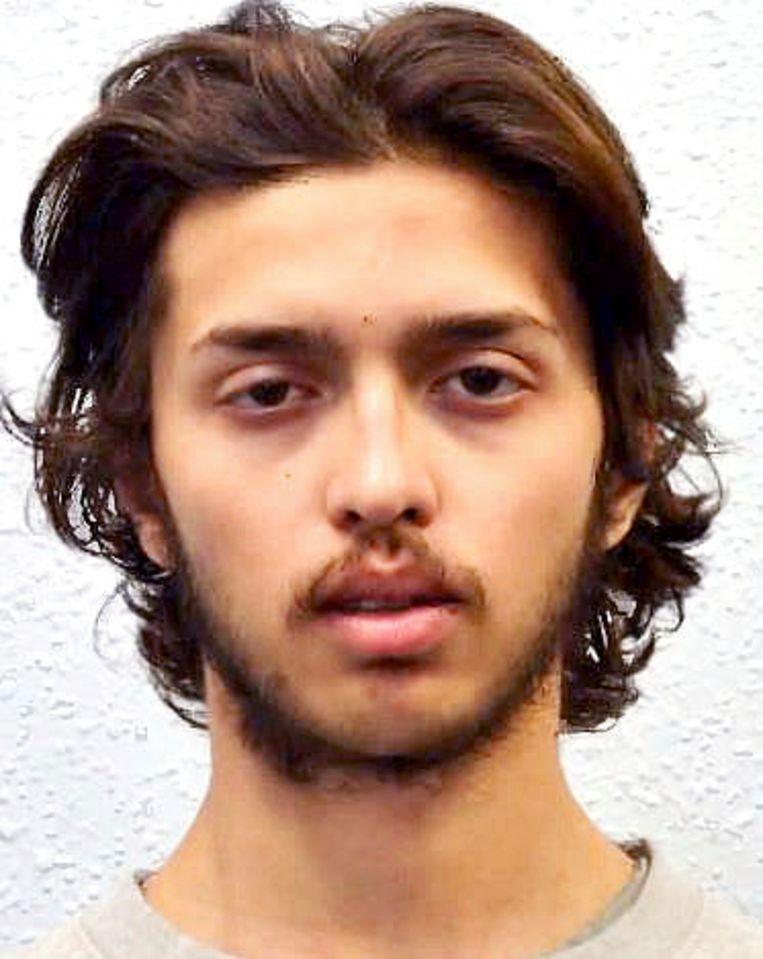 20-jarige verdachte Sudesh Amman. Beeld AP