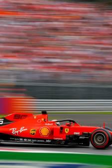 Vettel moet oppassen voor eerste schorsing in Formule 1
