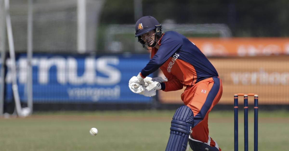 Cricketers onderuit bij eerste interland in anderhalf jaar