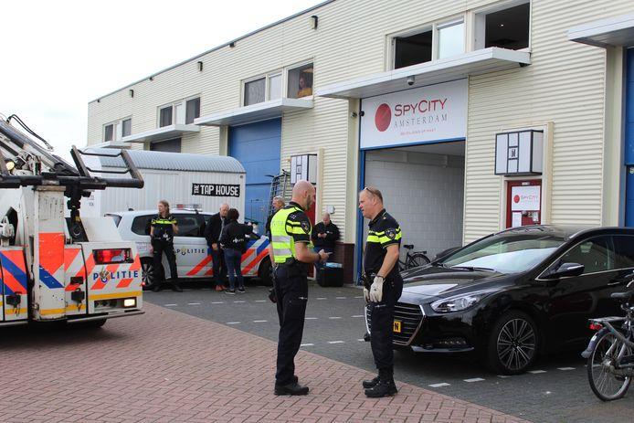 Sander de L. werd bij spyshop Spy City in Amsterdam zwaar mishandeld.