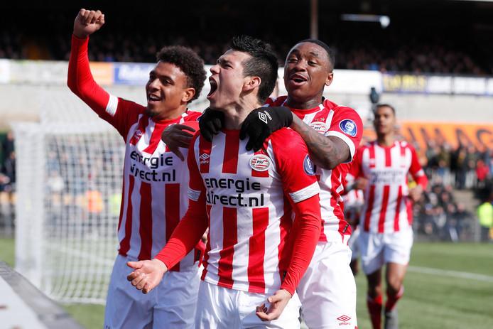 PSV won eerder dit jaar met 0-1 bij VVV. Het was de wedstrijd van 'het puntertje van Lozano', die onorthodox scoorde en de drie punten voor PSV binnen wist te brengen.