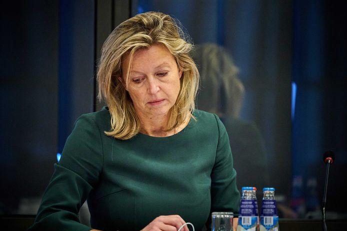 Minister Kajsa Ollongren van Binnenlandse Zaken en Koninkrijksrelaties, waaronder Wonen.