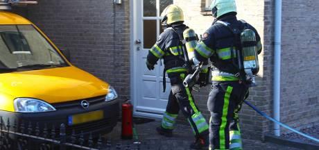 Keuken uitgebrand in woning in Oss, bewoner en hond komen op tijd weg