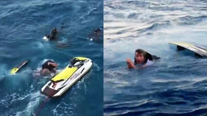 Opnames lopen fout: 'Jackass'-stuntman aangevallen door school haaien