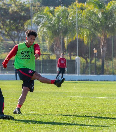 Luca Everink mag bij FC Twente in de herkansing