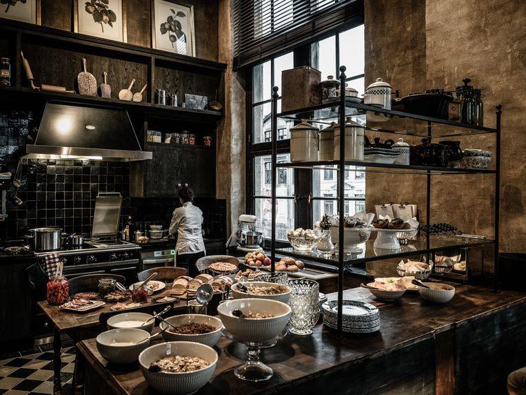 The Kitchen waar je kunt ontbijten. Beeld Alex Stephen Teuscher