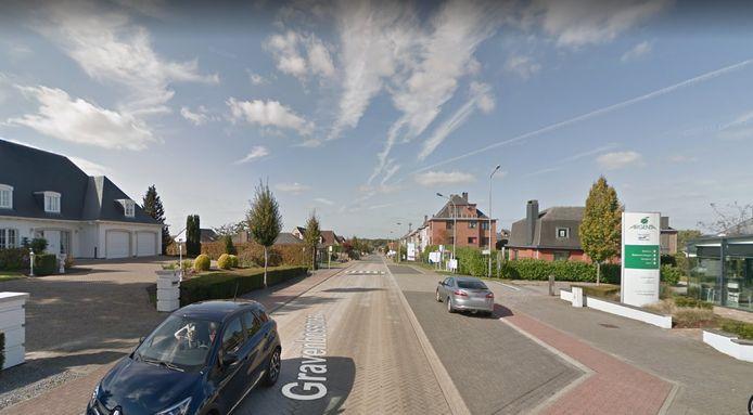 De Gravenbosstraat in Liedekerke