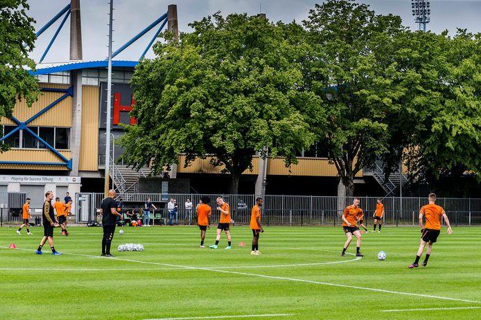 Willem II's first training.