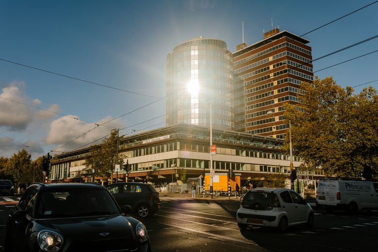 De Nederlandsche Bank aan het Frederiksplein. Beeld Marc Driessen