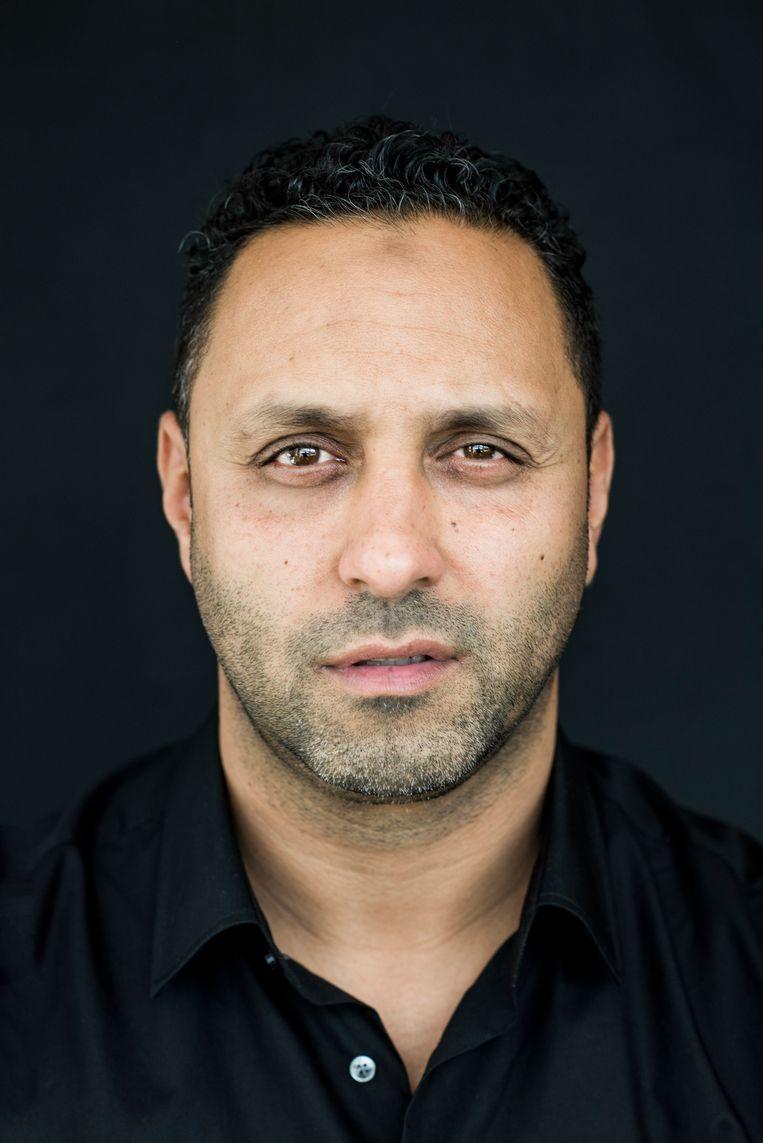 Khalid Kasem: 'Het pijnlijk om je te realiseren dat je achtergrond kennelijk altijd als een zwaard boven je hoofd blijft hangen.' Beeld Linelle Deunk