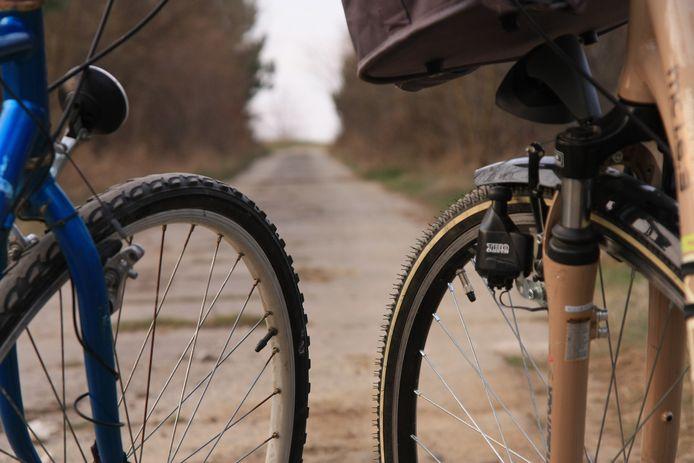 Foto ter illustratie, niet de fietsen van de fietsers in kwestie.