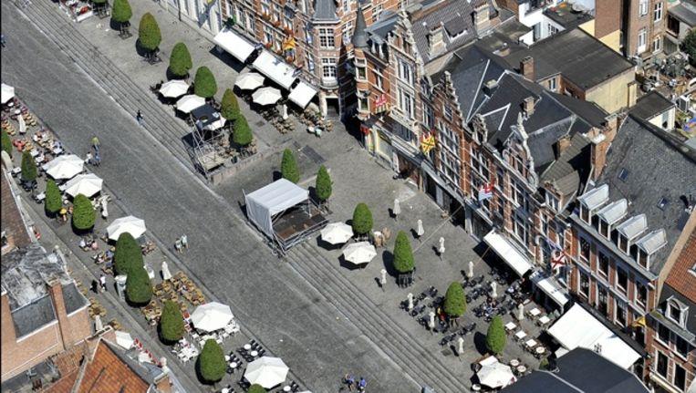 De Leuvense Oude Markt. Beeld PHOTO_NEWS