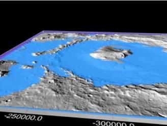 Wetenschappers hebben nieuwe theorie over hoe oppervlak van Mars werd gevormd