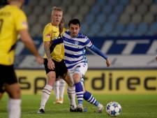 De Graafschap-aanvaller Van Mieghem leeft op roze wolk toe naar topper tegen Cambuur: 'Week nog mooier maken'