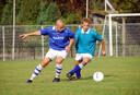 Een wedstrijd die al jaren niet meer gespeeld wordt: Ouwerkerk  tegen Volharding.