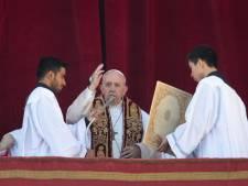Paus roept op tot wereldvrede in kerstboodschap