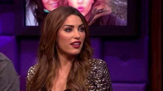 Yolanthe zag er tijdens de uitzending van Late Night anders uit door andere make-up in combinatie met hard licht, aldus RTL.
