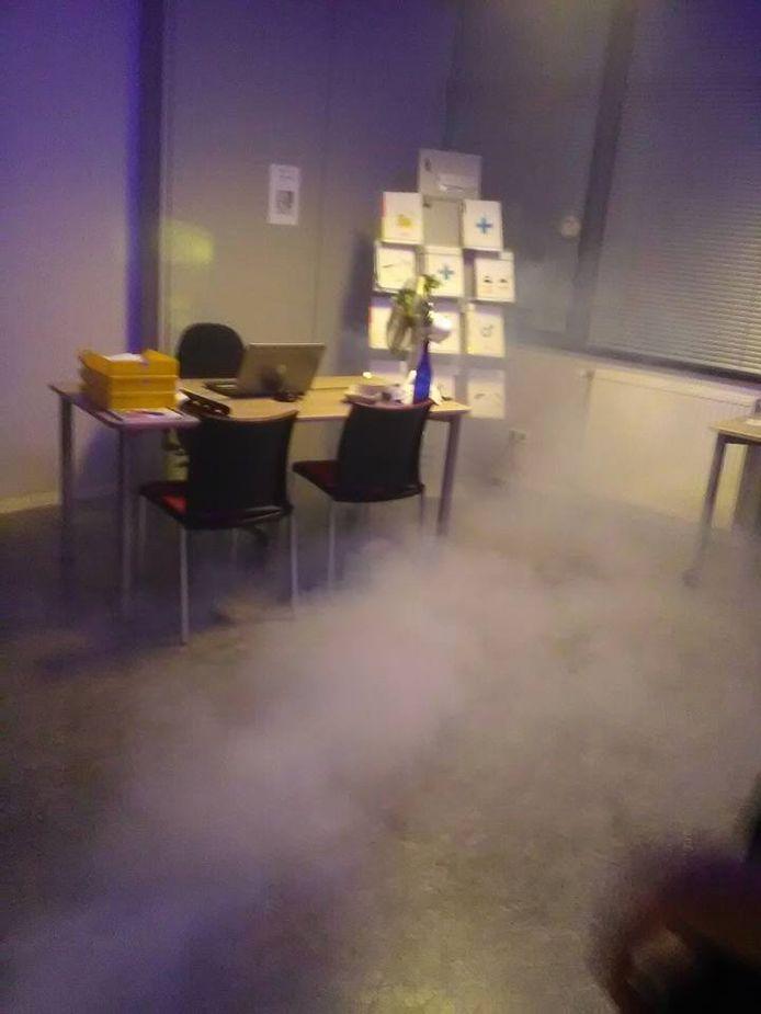 Spanning bij de Escape Room in Den Bolder.