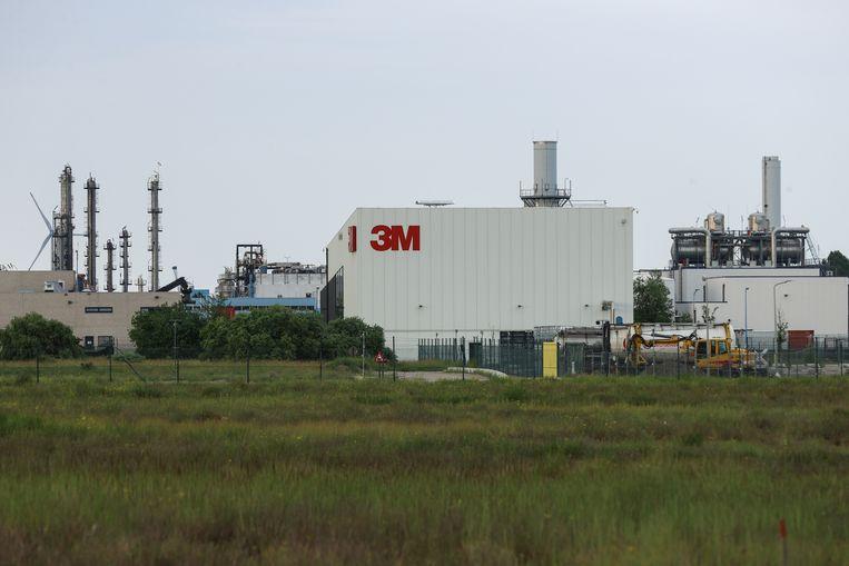 3M-site in Zwijndrecht. Beeld BELGA