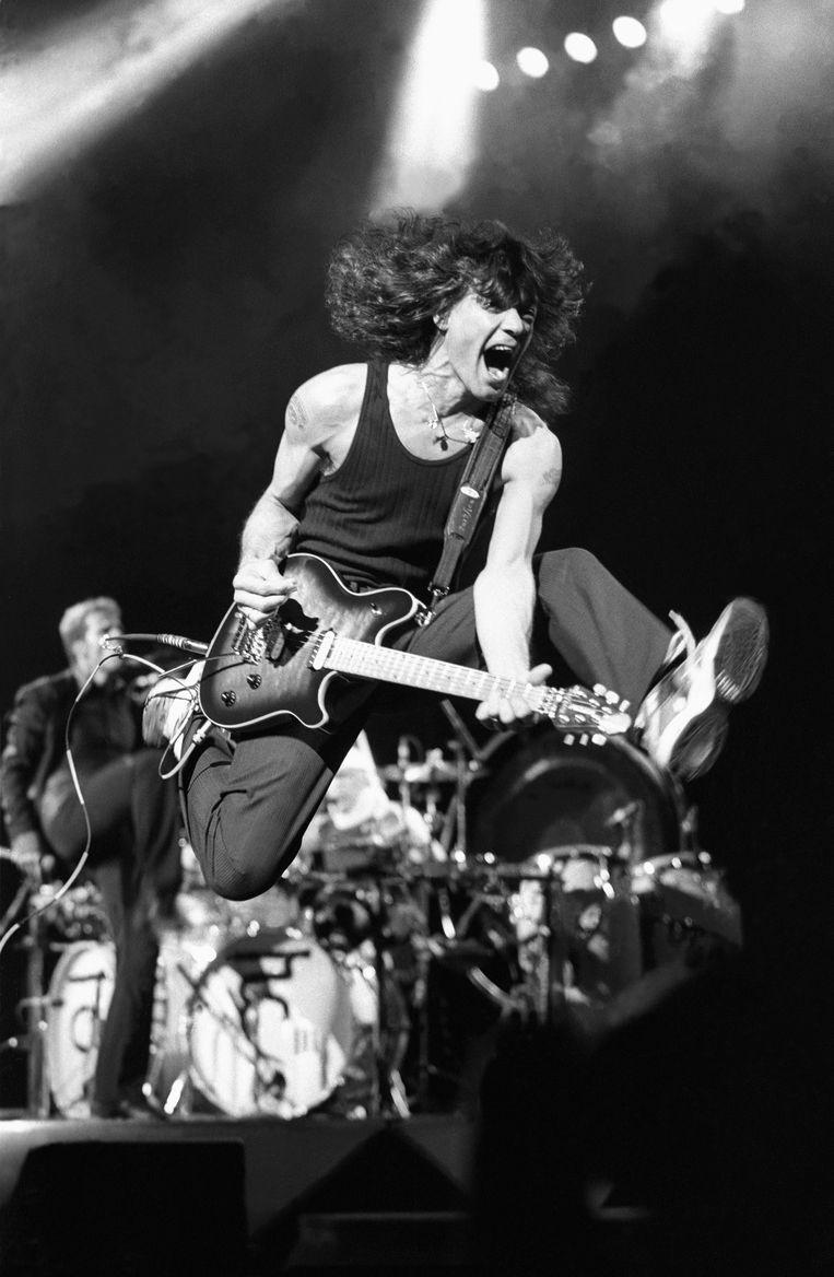 Eddie Van Halen. Beeld John Atashian/Getty Images