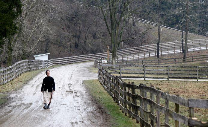 Une jeune Amish.