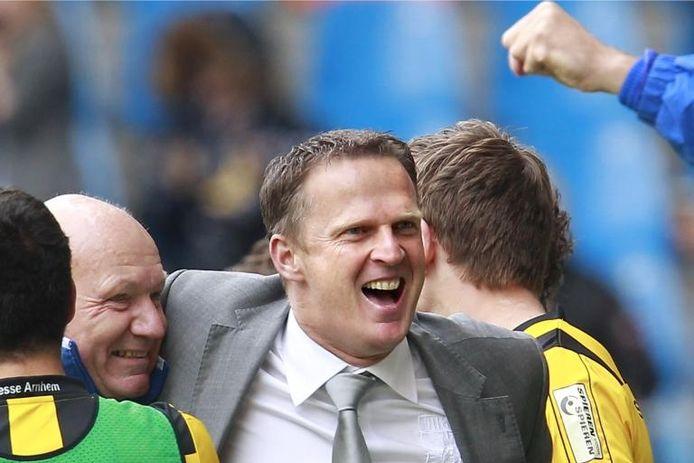 John van den Brom: van Vitesse naar Anderlecht? foto: Broer van den Boom