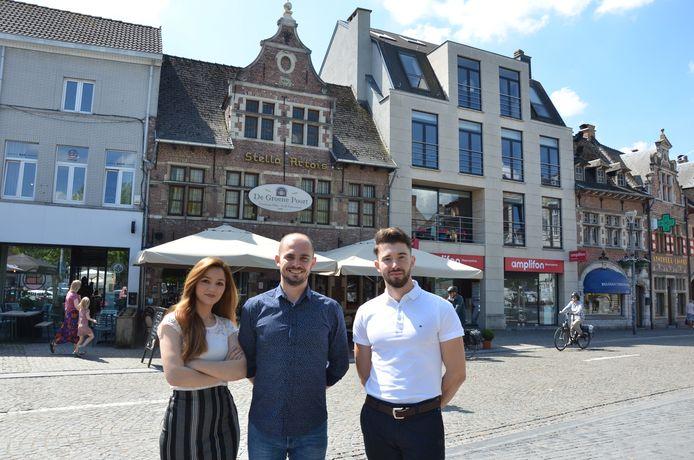 Ismerilda, Klodjan en Klevis zijn de gezichten achter restaurant de Groene Poort.