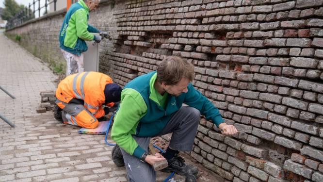 Maak kennis met de 'W'erfgoedploeg': mensen met afstand tot reguliere arbeidsmarkt mogen nu Rupels steenbakkerserfgoed restaureren