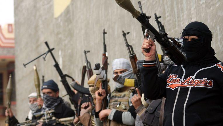 Archiefbeeld uit Fallujah, Irak. Beeld EPA